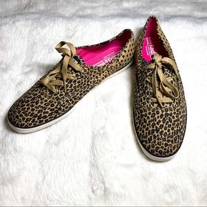 Keds Cheetah Leopard Canvas Sneakers 10